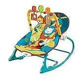 Trona para bebé, columpio eléctrico, portátil, mecedora portátil, soporte ajustable, carga máxima de 13 kg, diseño de cinturón de seguridad, para bebés de 0 a 3 libera las manos de la madre.