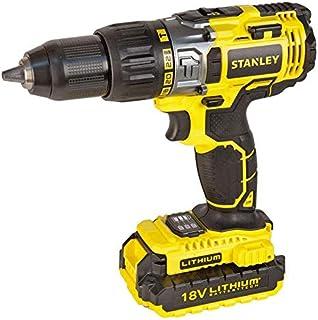 Stanley Power Tool,Cordless 18V LI-LON HAMMER DRILL,STDC18LHBK-B5
