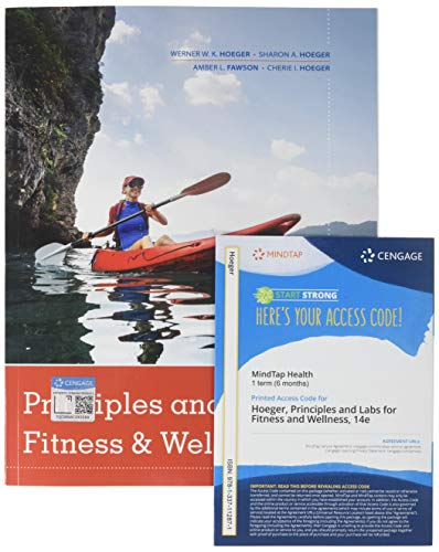 Principles and Labs for Fitness & Wellness + MindTap Health, 1 term (6 months) Access Card