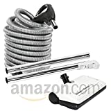 Ultra Clean 30' Hose Kit with Beam Central Vacuum Electric Powerhead Sweep N Groom Rugmaster