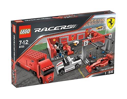 LEGO Racers 8155 - Tiny Turbo Ferrari F1 Tankstopp