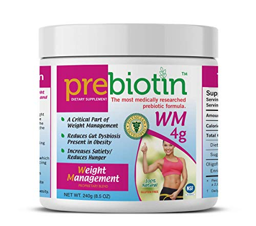 Prebiotin Prebiotic Weight Management – 8.5 oz | Formulated to Support Digestive Health | Balances Gut Microbiome, Boosts Your Own Probiotics & Reduces Hunger