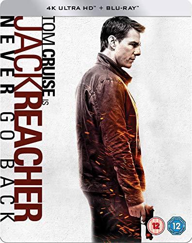 Jack Reacher II - 4K UHD Steelbook, Blu-ray 4K UHD + Blu-ray mit deutschem Ton, Zavvi exklusiv, OOP, Uncut, Regionfree