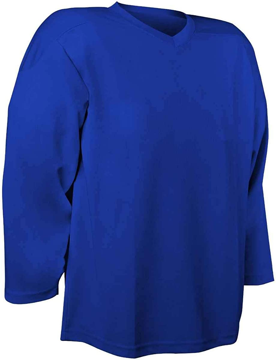 CHAMPRO Sports Faceoff Youth Hockey Practice Jersey 100/% Polyester Mesh