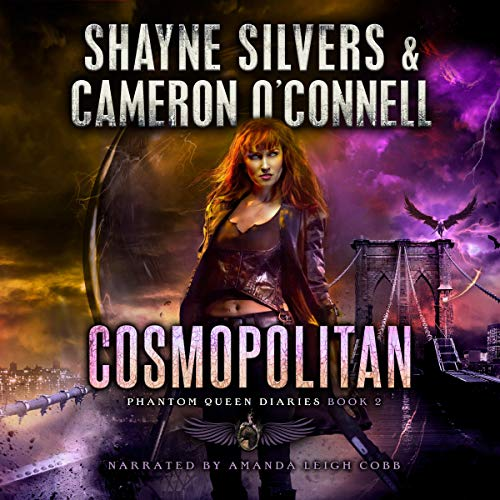 Cosmopolitan audiobook cover art