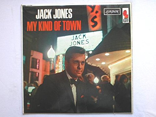 Jones, Jack My Kind Of Town LP London HAR8236 EX/VG 1965