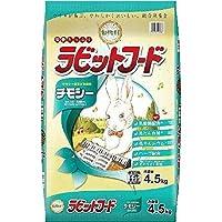 (まとめ買い)イースター うさぎ用フード 動物村 ラビットフード チモシー 4.5kg 【×3】