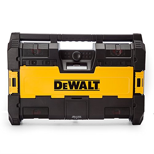 DEWALT DWST1-75663 Tough System DAB/Bluetooth Jobsite Radio XR Battery Charger, 18 V, Yellow/Black