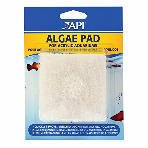 API 3 Pack of Algae Pad for Acrylic Aquariums, 1-Count Per Container