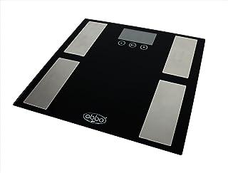 ObboMed MM-2700 Báscula Compacta Digital de Grasa Corporal, para Medir el Peso de la Grasa Corporal, la Grasa Corporal Total, el Porcentaje de Hidratación, Músculo, Hueso, Índice de Masa Corporal