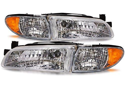 00 pontiac grand prix headlights - 1