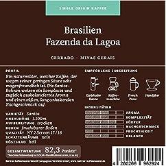 Berliner Kaffeerösterei Brasilien Fazenda da Lagoa