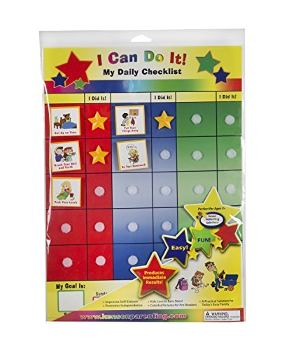 Kenson Kids I Can Do It Daily Checklist