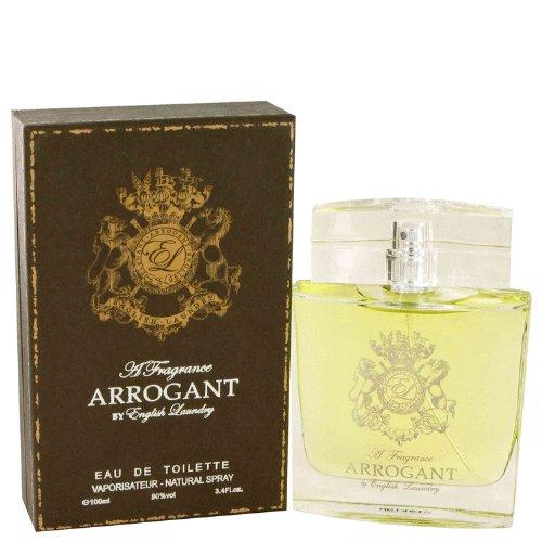 Arrogant by English Laundry Eau De Toilette Spray, 100 ml
