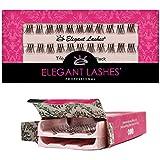 Elegant Lashes Trio Flare - X-SHORT Black Individual Lashes (Double Pack - 2 Trays)