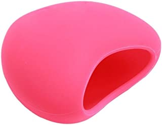 Soft Silicone Heart-shaped Sexy Pout Lips Enhancer Plumper Tool Device,Random Color