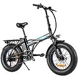 ANCHEER 20' 4.0 Fat Tire Electric Dirt Bikes, 20 inch 48V 500 Watt...