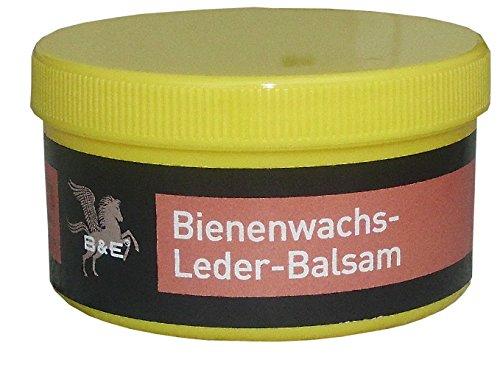 Bense u. Eicke B & E Bienenwachs Leder Balsam, 250 ml Lederfett Lederreiniger Polsterreiniger, für Schuhe, Sättel …