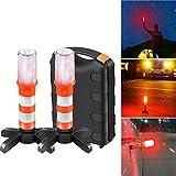 Sunsbell Luce Stroboscopica LED Road Flare, 2 Pezzi di Emergenza Auto sul Bordo della Stra...
