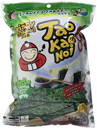 Taokaenoi Brand Seetangsnack knusprig, 6er Pack (6 x 32 g)