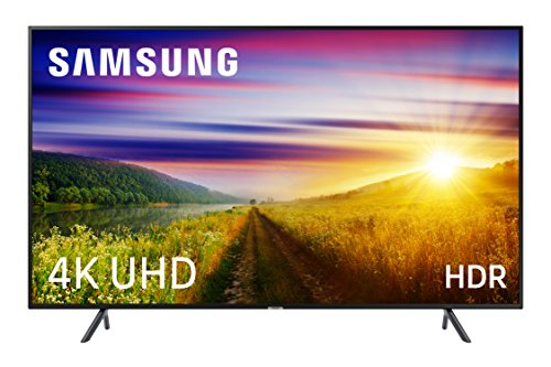 Samsung 40NU7125 - Smart TV 40' 4K UHD HDR (Pantalla Slim, Quad-Core, One Remote, 3 HDMI, 2 USB), Color Negro (Carbon Black)
