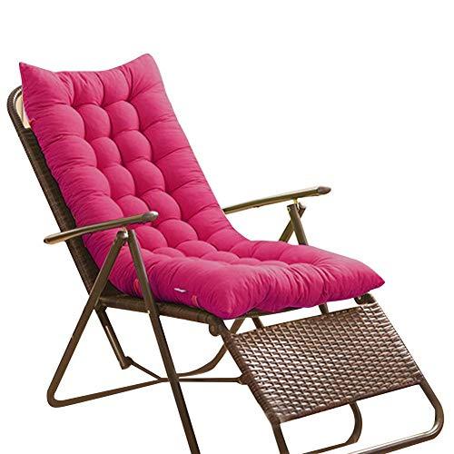 Precauti - Cojín para silla mecedora antideslizante para tumbona de interior y exterior, varios estilos disponibles