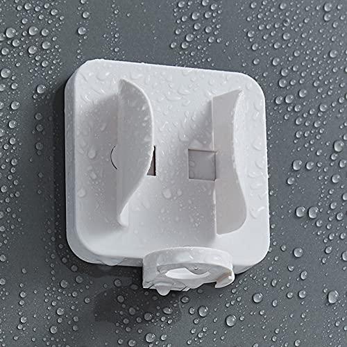 Funming Soporte de cepillo de dientes eléctrico montado en la pared Clip de inducción por gravedad fácil acceso sin perforaciones adhesivo cepillo de dientes