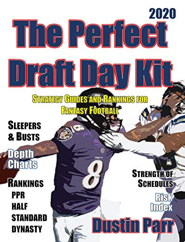 The Perfect  Draft Day Kit 2020: Strategy Guides and Rankings for Fantasy Football