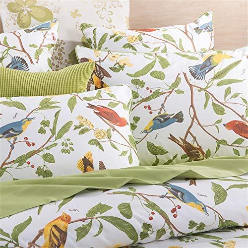 Green Bird Bedding