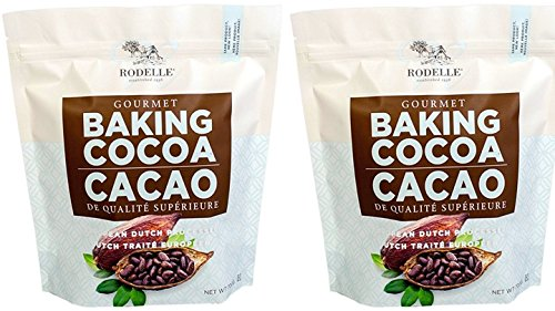 Rodelle Gourmet Baking Cocoa, 1.54 Lb, Pack Of 2