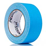 Gaffers Tape 2 Inch | Fluorescent Blue | USA Made Quality | Leaves No Residue | by Gaffer Power