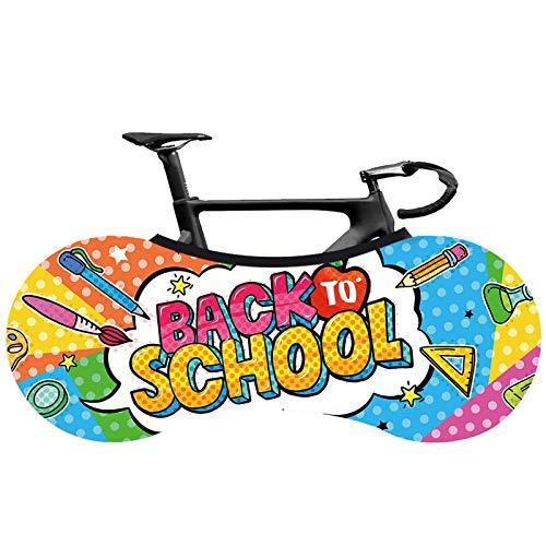 FangXiao Cubierta de Almacenamiento de Bicicletas para Interiores, Cubierta de Ruedas de Bicicleta, Bolsa de Almacenamiento de Bicicletas de montaña Antipolvo Adecuada para neumáticos de 26