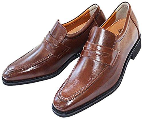 North Island Shoe Industry Institute)北島6cmUPレザーハイシューズレザーキッズ用シューズ業界動向「長靴トップスシューズ」* 305(日本製紳士靴ビジネスインサービス本革怠惰な靴)
