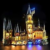 GEAMENT Kit de luces para Harry Potter Hogwarts Castle - Juego de iluminación compatible con 71043 Lego modelo de construcción (juego Lego no incluido)