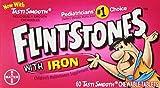 Flintstones Chewable Kids Vitamins with Iron, Multivitamin for Kids & Toddlers with Vitamin D, Vitamin C & more, 60ct