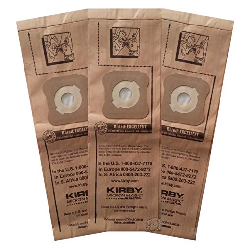 Originali Kirby MICRON MAGIC filtro 3 pack per G3 G4 G5 G6 G7 G8 G10 Sentria (197294)