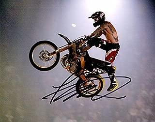 autographed motocross memorabilia
