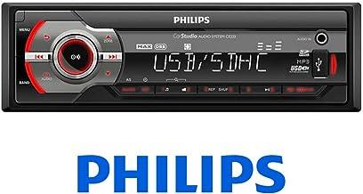 Reacondicionado Philips CEM2220BT RDS Am//FM, MP3, USB, Bluetooth Radio CD de Coche