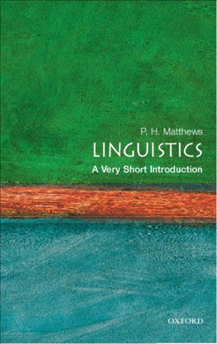 Linguistics: A Very Short Introduction (Very Short Introductions) (English Edition)の詳細を見る