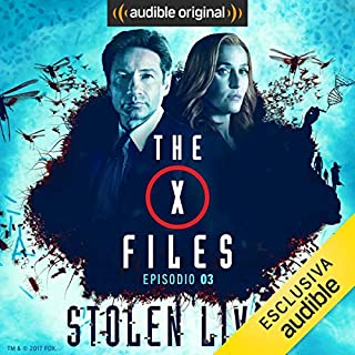 X-Files - Stolen Lives 3 copertina