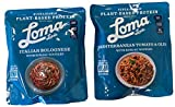 Loma Linda Plant Gluten Free Based Meals Bundle of Italian Bolognese with Konjac Noodles and...