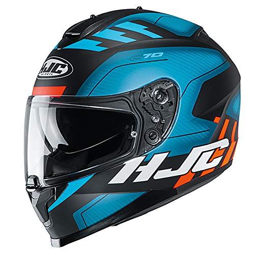 HJC C70 Koro Motorradhelm XL blau