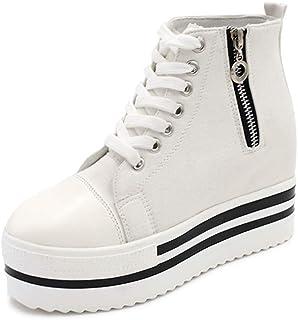 LaBiTi Womens High Top Classic Canvas Fashion Sneaker