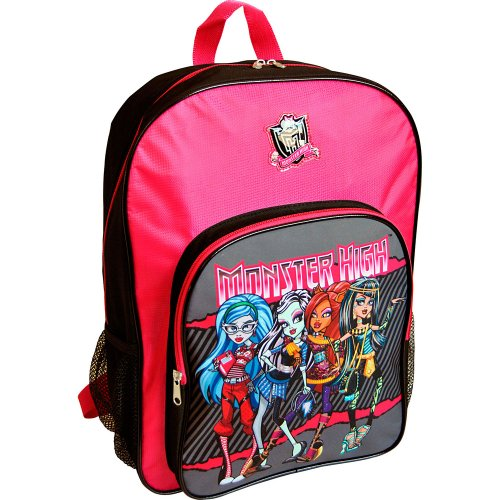 Monster High Sac à Dos Primaire - 41 cm