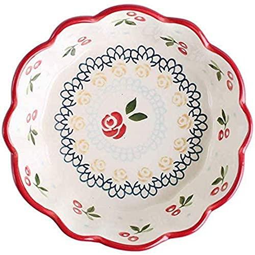 ZCRR - Ciotole per frutta in ceramica, 15 cm, ciotola per la colazione in famiglia, ciotola per la frutta e la pasta (colore: una confezione)