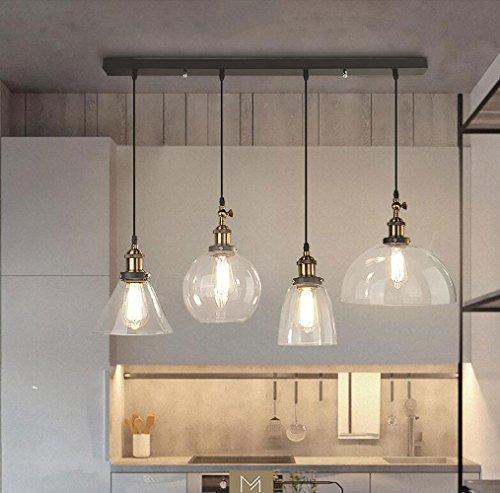 Kelly' Harvest House Lámpara de Cristal Pendiente Moderna I