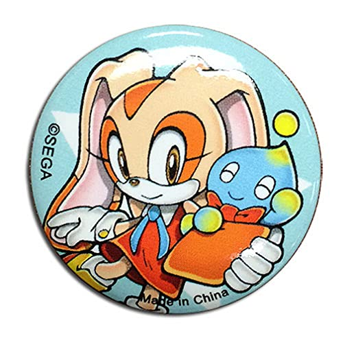 Great Eastern Sonic The Hedgehog Cream The Rabbit 1.25 inch Pinback Bouton