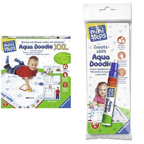 Ravensburger ministeps 04543 Aqua Doodle XXL &  04490 - ministeps Aqua Doodle Zusatzstift