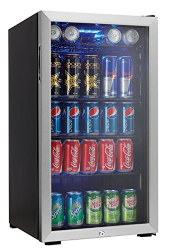 Danby Can Beverage Center, Stainless Steel