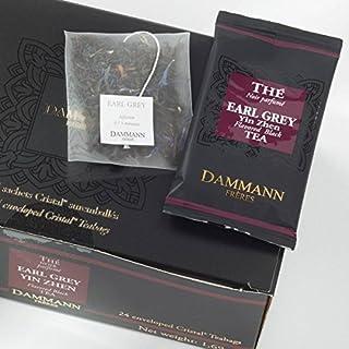 Dammann Freres Tee - Earl Grey Yin Zhen Schwarzer Tee - 24 Cristal Teabags